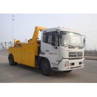 China Durable 155KW 80KN Wrecker Tow Truck , 6tons - 60tons Breakdown Recovery Truck factory