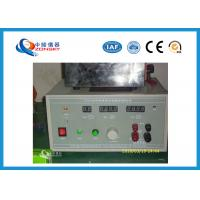 Buy cheap Semiconductor Volume Resistivity Testing Equipment 23 ± 2 ℃ Ambient temperature from Wholesalers