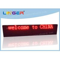 China Waterproof LED Scrolling Message Sign 1/4 Scan Constant Current Driver factory