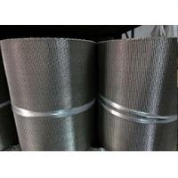 Buy cheap Long Security Wire Mesh Belt , Stainless Steel Flat Wire Conveyor Belt from Wholesalers