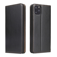 China Universal Iphone11 PU Leather Trifold Leather Flip Cases factory