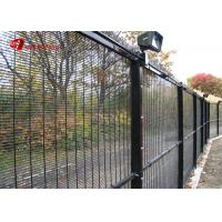 China Powder Coated Wire Mesh Fence Panels Security Welded 358 Prison Mesh Fencing on sale