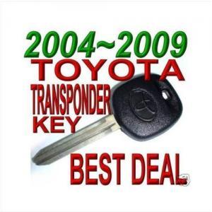 China Transponder key for 03 04 05 06 07 08 09 TOYOTA CAMRY TRANSPONDER CHIP KEY on sale
