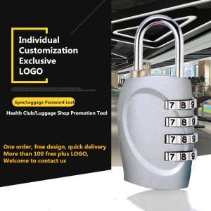 Buy cheap Multi Color Optional Luggage Combination Padlock , Custom Logo Gymnasium Password Lock from Wholesalers
