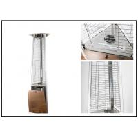 Buy cheap Stainless Steel Outdoor Gas Patio Heater Triangle Pyramid Patio Heater Remote Controlled from Wholesalers