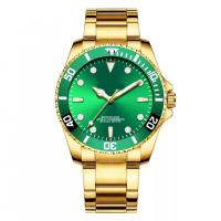 China Mineral Crystal Luxury Wrist Watch With Japan Quartz Movement PC21S on sale