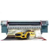 China Konica 512i-A Solvent Printer High Precision For Traditional Advertising Production factory