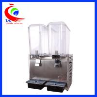 Buy cheap 18L*2 Cold Drink Dispenser Cold Beverage Dispenser 470*280*680mm from wholesalers