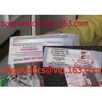 China Carrier BAGS, Refuse SACKS, Bin Liners, Nappy bags, Draw string & Draw tape bags factory