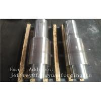 China Open Die Forged Alloy Steel Carbon Steel Shaft / Forging Products factory