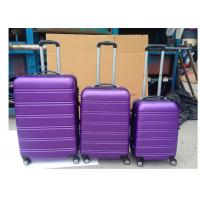Carry On 3 Pcs Luggage Travel Set Bag ABS Trolley Suitcase Zipper Framed