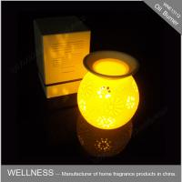 Buy cheap Classic Electric Oil Burner With Light , Christmas Gift  Perfume Oil Lamp Burners from Wholesalers