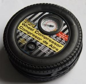 China Plastic Car 59cm Hose black DC 12v Tire Air Compressor For car cigarette lighter factory