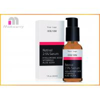 Buy cheap Retinol Face Serum 2.5% with Hyaluronic Acid , Aloe Vera , Vitamin E - Boost Collagen Production from Wholesalers
