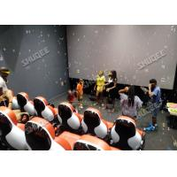 China Multiplayer Interactive 7D Virtual Reality Cinema With Dynamic Special Effects factory