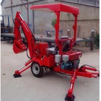 Buy cheap 18HP diesel mini excavator towable digger backhoe export from wholesalers