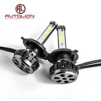 China 36w 3800lm LED Car Headlight Bulb / Auto Driving Lights 360 Degree 7 Colors factory