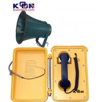 Buy cheap Weatherproof Industrial Telephones , Yellow Loud Speaking Phone from Wholesalers