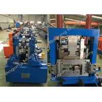 Buy cheap Interchangeable C&Z Purlin Forming Machine , Purlin Roll Former High Capacity from Wholesalers