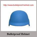 Buy cheap Wholesale Cheap China Blue NIJ IIIA Boltless PASGT Bulletproof helmet from Wholesalers