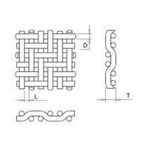 """SS304 & SS316, 135mesh Square Wire Mesh, PSW Weave, 0.0023"""" Wire Dia."""