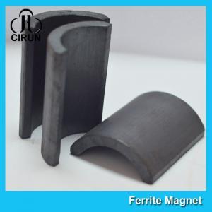 China Y30BH C5 C8 Grade Ferrite Arc Magnet For BLDC Ceiling Fan Motor Eco Friendly factory