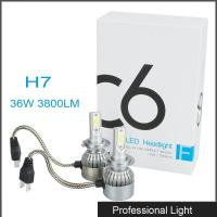 Buy cheap New 360° Viewing Angle LED H7 Headlight 36W C6 Lighting Bulb IP67 Waterproof for Jeep from Wholesalers