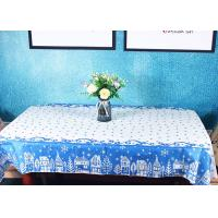 China Elegant Biodegradable Paper Linen Tablecloths / Disposable Paper Table Covers For Hotel factory