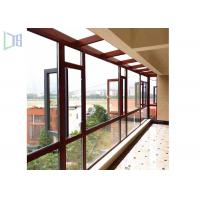 Buy cheap Space Saving Aluminium Casement Windows Grills Design Anti Aging For Building from Wholesalers