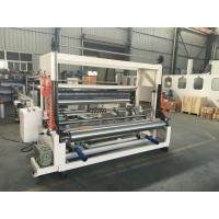 Buy cheap High Speed Tissue Paper Slitting And Rewinding Machine Automatic Discharging from Wholesalers
