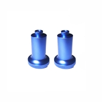 China Anodized Sandblast Polished Knobs Reverse Lockout Lever Shift Knob Pull Up Lifter factory