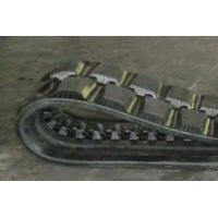 China Sturdy Durable Track Loader Rubber Tracks Anti - Vibration 84mm Pitch factory