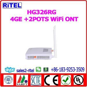 HG326RG   4GE +2POTS WiFi   GPON  ONT