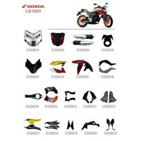 Buy cheap ABS Plastic Material Motorcycle Spare Parts Honda CB190R Corrosion Resistant from wholesalers