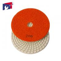 Buy cheap Economic Loop Tape 3 Inch Polishing Pads High Gloss With Spiral Shape from Wholesalers