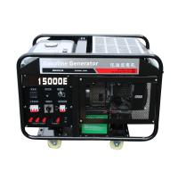 Buy cheap Chongqing Power Electric 15kw portable gasoline generator set air cooling engine 2 cylinder from Wholesalers