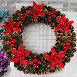60CM Decorated Christmas Wreaths