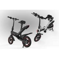 Portable Collapsible Electric Bike , Folding Electric Bicycle With Disc Break System