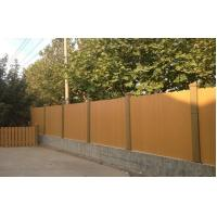 Buy cheap Green Water - resistant WPC Fence panels Recycled For Garden And Corridor from Wholesalers