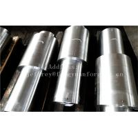 China Stainless Steel Hot Forged Step Shaft Step Axis Heat Treatment Machined factory