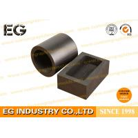 Custom Size Machined Large Graphite Crucible , Chemical Stability 4 KG Graphite Crucible