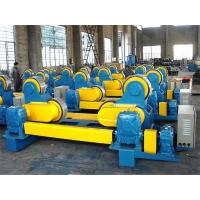 Buy cheap Self Adjustment 80T Heavy Duty Pipe Stands , Wireless Control Welding Pipe from wholesalers