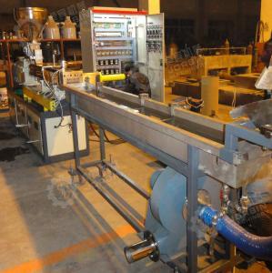 China PP PE mastbatch with Coca3  twin screw extruder machine/granulation machine/ pelletizing machine factory