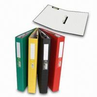 China PVC File Folder, Various Colors are Available factory