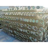 Buy cheap Galvanized / Silicon Industrial Dust Collector Filter Bag Cage , High Tensile from Wholesalers