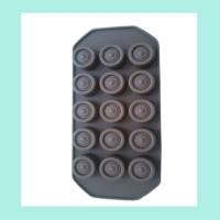 Buy cheap FDA ,LFGB silicone jello molds ,round shape silicone chocolate mold from Wholesalers