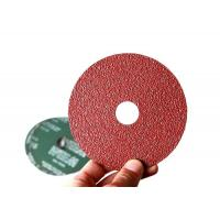 Buy cheap 100mm Aluminum Oxide Resin Fiber Sanding Discs For Angle Grinder Start from Grit 24 from Wholesalers