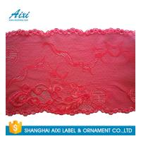 China Stretch Lace Nylon Embroidery Lace Fabric Spandex Lycra Lace Fabric factory