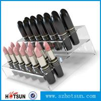 China Promotional Acrylic Comestic Store Lipstick Display Stand factory