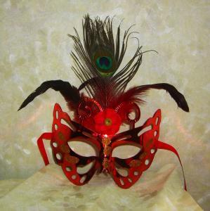 China Halloween witch party mask party mask panda paper mask eye mask PVC woman party mask factory